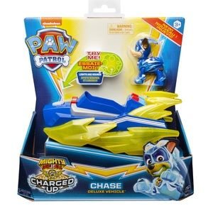 Paw Patrol Chase Charged up Deluxe Vehicle NEW